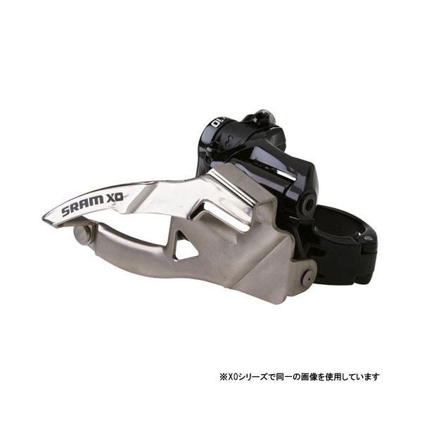スラム X0 クランプ 2×10 フロントディレーラー (High) デュアルプル【自転車】【マウンテンバイクパーツ】【フロントディレイラー】【スラム】