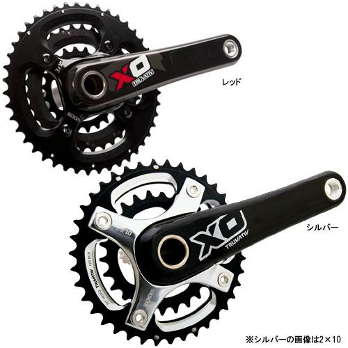 スラム X0 GXP 44-33-22T クランクセット(BBは付属しません)【自転車】【マウンテンバイクパーツ】【クランクセット】【スラム】