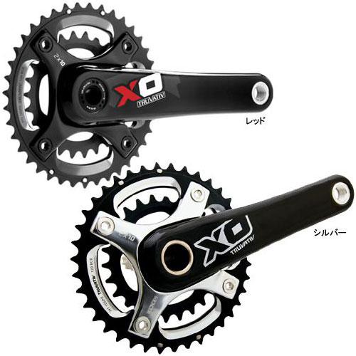 スラム X0 BB30 39-26T クランクセット(BBは付属しません)【自転車】【マウンテンバイクパーツ】【クランクセット】【スラム】