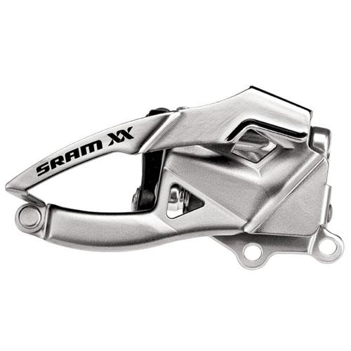 スラム XX フロントディレーラー(ダイレクト Spec3) ボトムプル【自転車】【マウンテンバイクパーツ】【フロントディレイラー】【スラム】