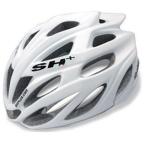 SH+ SHABLI ホワイト ヘルメット【自転車】【ヘルメット(大人用)】