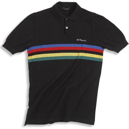 【現品特価】デマルキ チャンピオンポロ ブラック【自転車】【ウェア】【ショートスリーブウェア】【デマルキ】