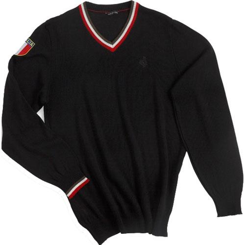 【現品特価】デマルキ イタリア ブラック セーター【自転車】【ウェア】【ロングスリーブウェア】【デマルキ】