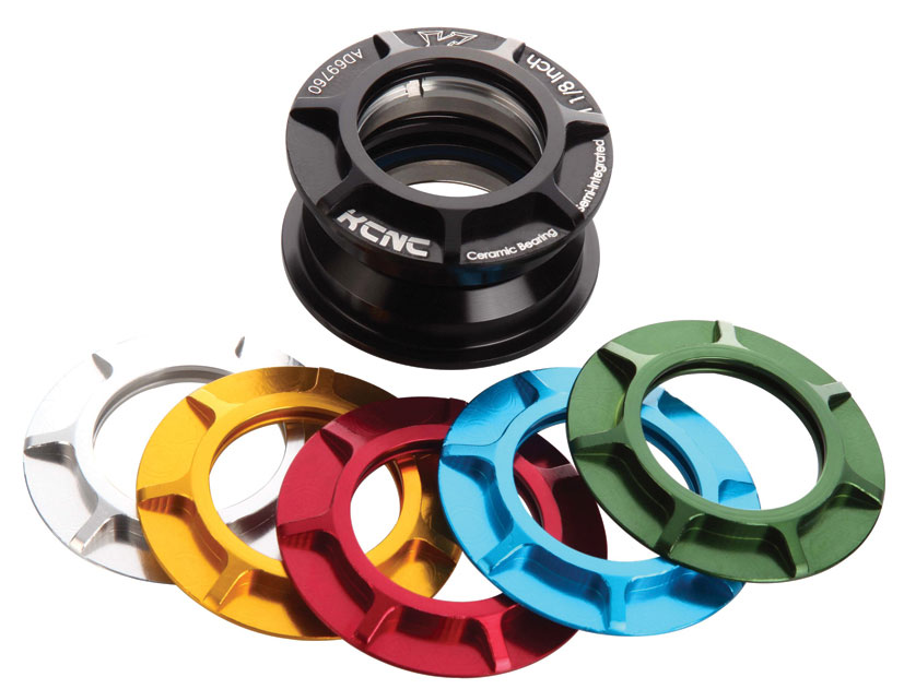 KCNC モリオン KM2 セミインテグレイテッドヘッドセット 【自転車】【ロードレーサーパーツ】【ヘッドパーツ】【KCNC】