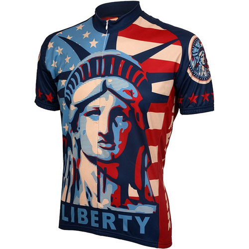 【現品特価】ワールドジャージ Liberty Jersey【自転車】【ウェア】【ショートスリーブウェア】【ワールドジャージ】