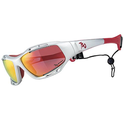 720アーマー Stingray ホワイト/レッド サングラス 偏光レンズモデル【自転車】【サングラス・アイウェア】