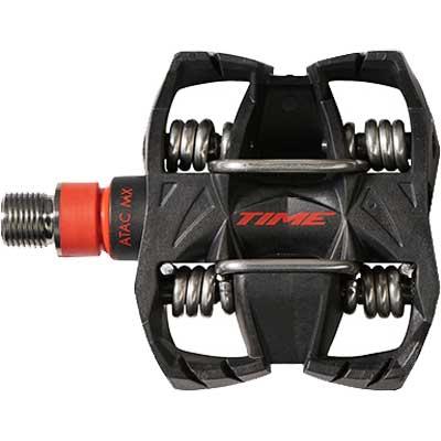 タイム アタック MX12 チタンカーボン ペダル【自転車】【マウンテンバイクパーツ】【ペダル・クリート】【TIME】