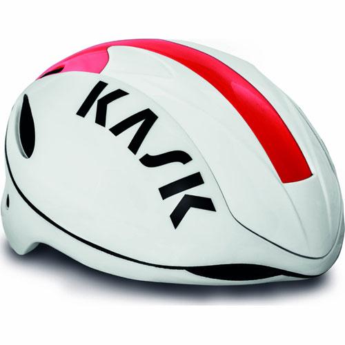 【現品特価】KASK INFINITY ホワイト/レッド ヘルメット
