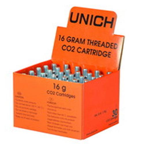 ユニック 炭酸(CO2) カートリッジ16g(30本入りセット)