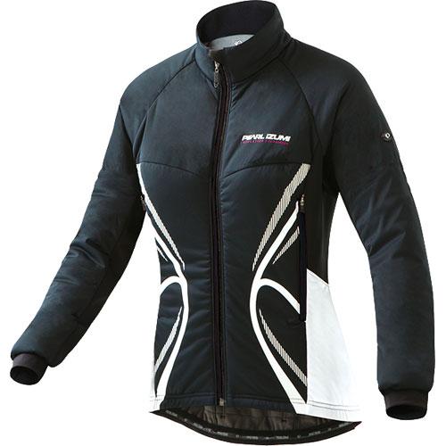 パールイズミ 【W7900BL】 ストレッチ インサレーション ジャケット ブラック (0℃対応) レディース