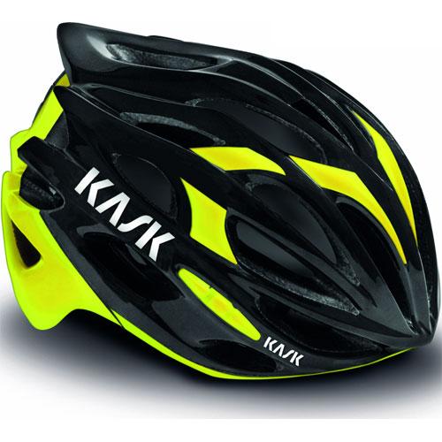 【特急】KASK MOJITO ヘルメット ブラック/イエローフロウ