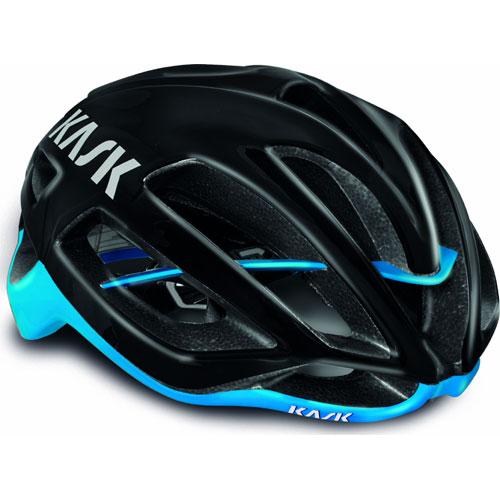 KASK PROTONE ヘルメット ブラック/ライトブルー