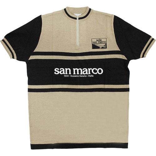 【WC在庫処分】サンマルコ ウール ジャージ ブラウン セラ Selle San Marco