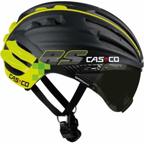 カスコ SPEEDairo RS バイザー付き ブラック/イエロー ヘルメット