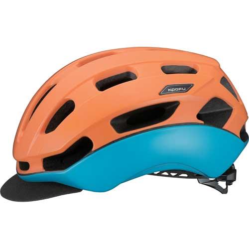 OGK KOOFU(コーフー) BCグロッスベ マットソーレオレンジ ヘルメット