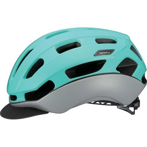OGK KOOFU(コーフー) BCグロッスベ マットターコイズ ヘルメット