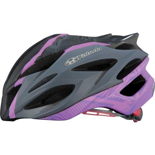 OGKカブト ステアーレディース マットブラックパープル ヘルメット