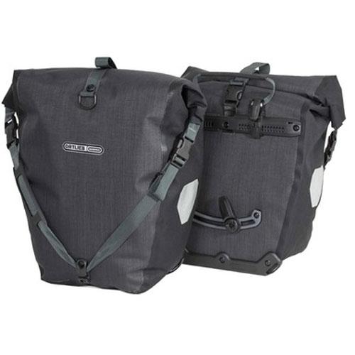 オルトリーブ バックローラープラス(F5204)(ペア) グラナイト/ブラック サイドバッグ
