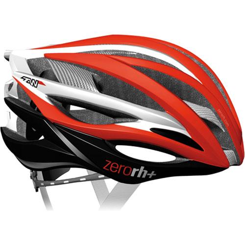 zerorh+ 6050 ZW レッド/ホワイト ヘルメット