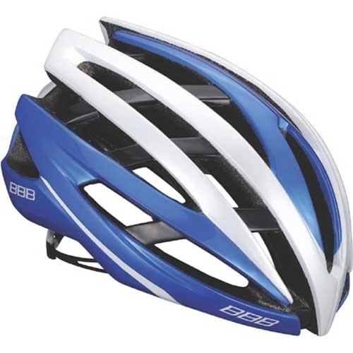 BBB イカロス BHE-05 ヘルメット ブルー/ホワイト