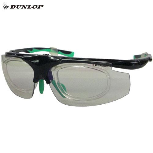 ダンロップ DU-019 ブラック (はね上げタイプ) 無料度付レンズ付きサングラス