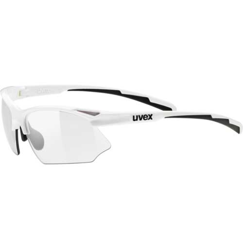 ウベックス スポーツスタイル 802 VARIO ホワイト サングラス(調光レンズ)