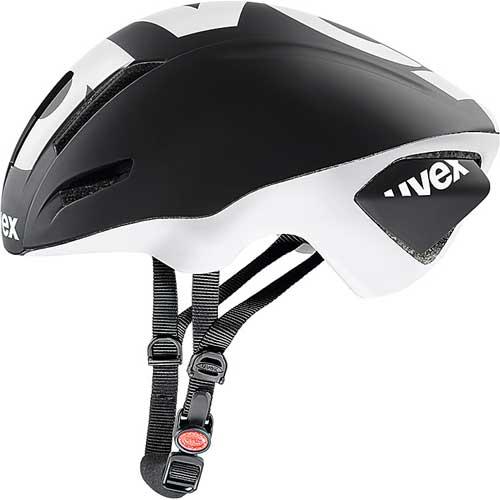 ウベックス EDAERO ヘルメット ブラック/ホワイトマット