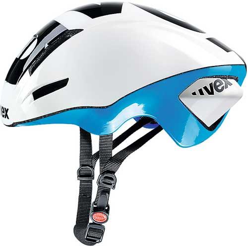 ウベックス EDAERO ヘルメット ホワイト/ブルー