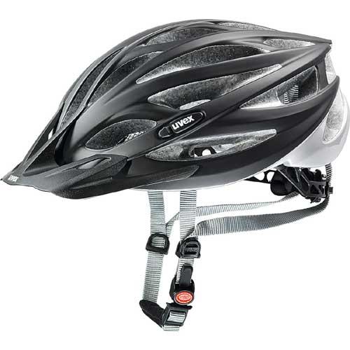 ウベックス OVERSIZE ヘルメット ブラックマット/シルバー