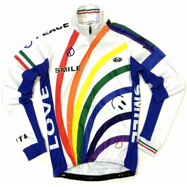 【超現品特価】セブンイタリア Rainbow Smile Jacket White