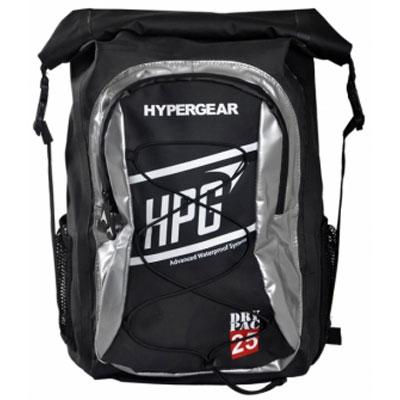 ハイパーギア DRY PAC ID 25L ブラックxシルバー バッグ