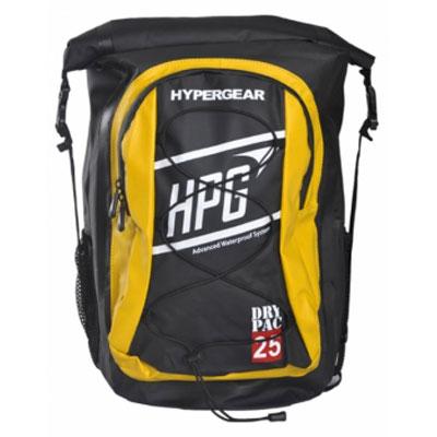 ハイパーギア DRY PAC ID 25L ブラック×イエロー バッグ