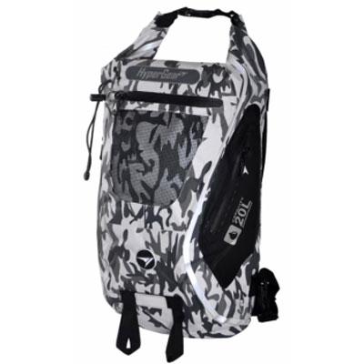 ハイパーギア DRY PAC TOUGH 20L カモフラージュホワイト バッグ