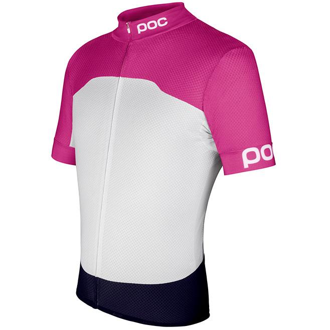 POC RACEDAY CLIMBER(レースデイ クライマー ジャージ) ピンク/ホワイト ジャージ