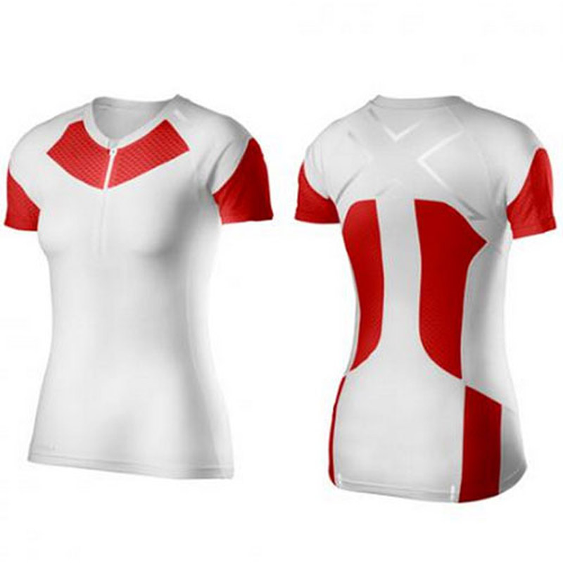 【SALE】2XU 【WR3154a】 XTRM COMPRESSION S/S TOP レディース WHT/SCT