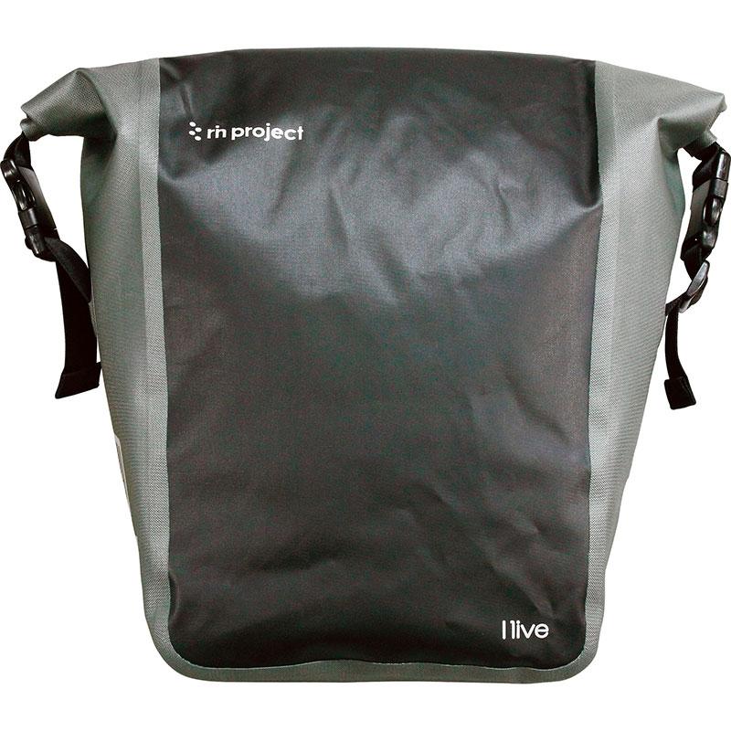 リンプロジェクト 【1513】防水サイドバッグ ブラック