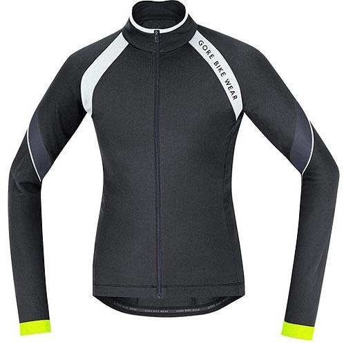 【現品特価】ゴアバイクウェア POWER 2.0 Thermo LADY Jersey ブラック/ホワイト レディース