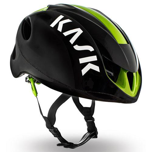 KASK INFINITY ブラック/ライム ヘルメット