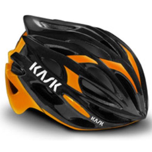 KASK MOJITO ブラック/オレンジFLUO ヘルメット