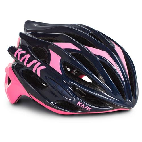 KASK MOJITO ネイビーブルー/ピンク ヘルメット