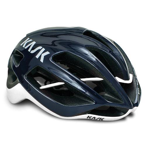 KASK PROTONE ネイビーブルー/ホワイト ヘルメット