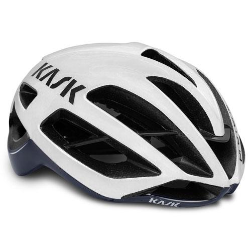 KASK PROTONE ホワイト/ネイビーブルー ヘルメット