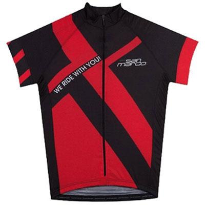 【WC在庫処分】サンマルコ RACING JERSEY BLACK/RED セラ Selle San Marco