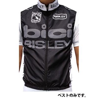 【現品特価】bici ウィンドベスト ブラック ユニセックス