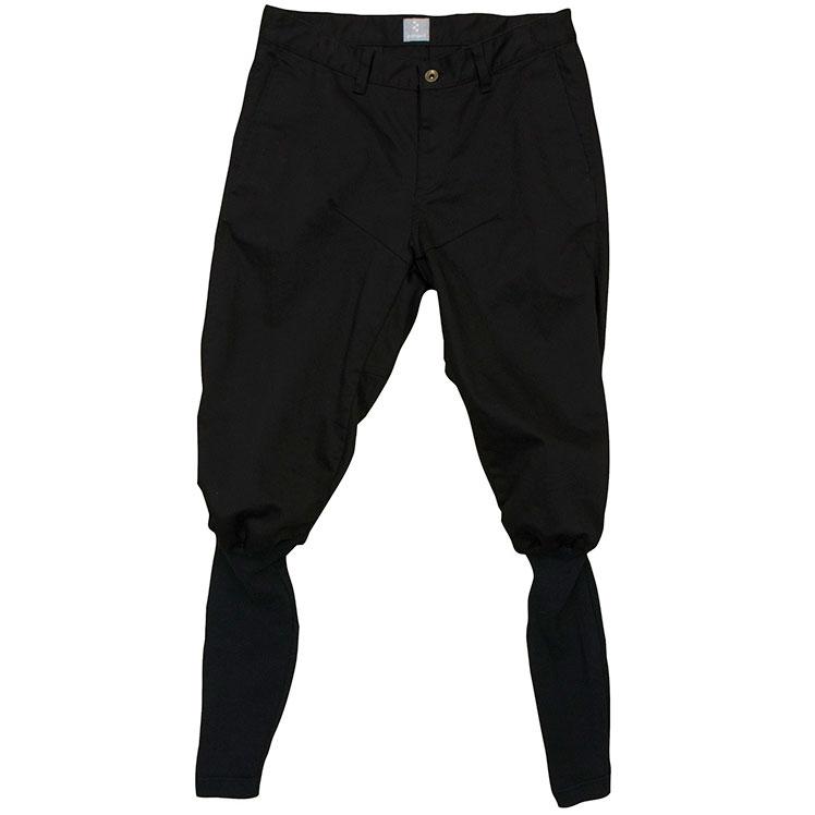 リンプロジェクト 【3092】ポロパンツストレッチサテン ブラック