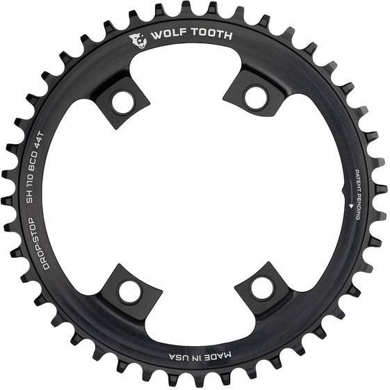 ウルフトゥース シングルチェーンリング 4アーム drop-stop【自転車】【ロードレーサーパーツ】