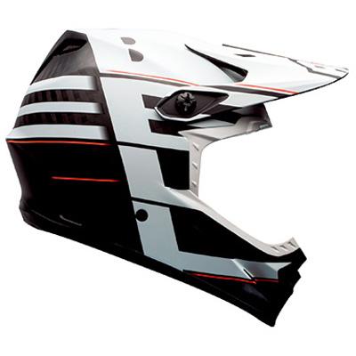 ベル フルナイン ヘルメット ホワイト/ブラックブロック