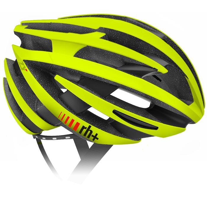 zerorh+ EHX6055 ZY マットイエローフルオ/ ブリッジマットブラック ヘルメット