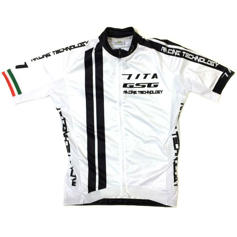 セブンイタリア GT-7R Jersey ホワイト/ブラック