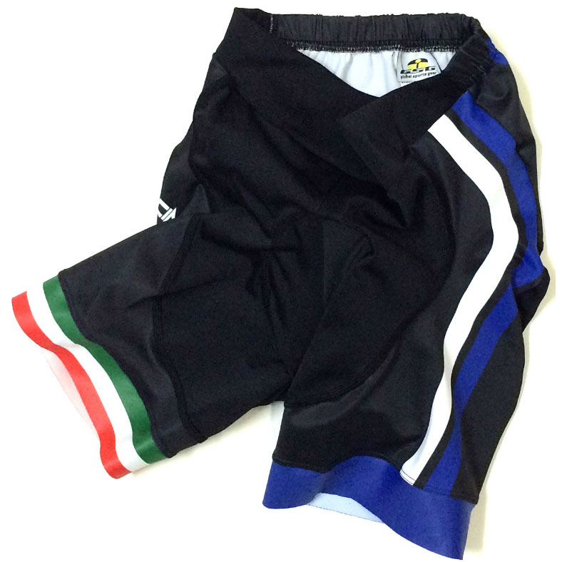 セブンイタリア GT-7R レディース Shorts ブラック/ネイビー